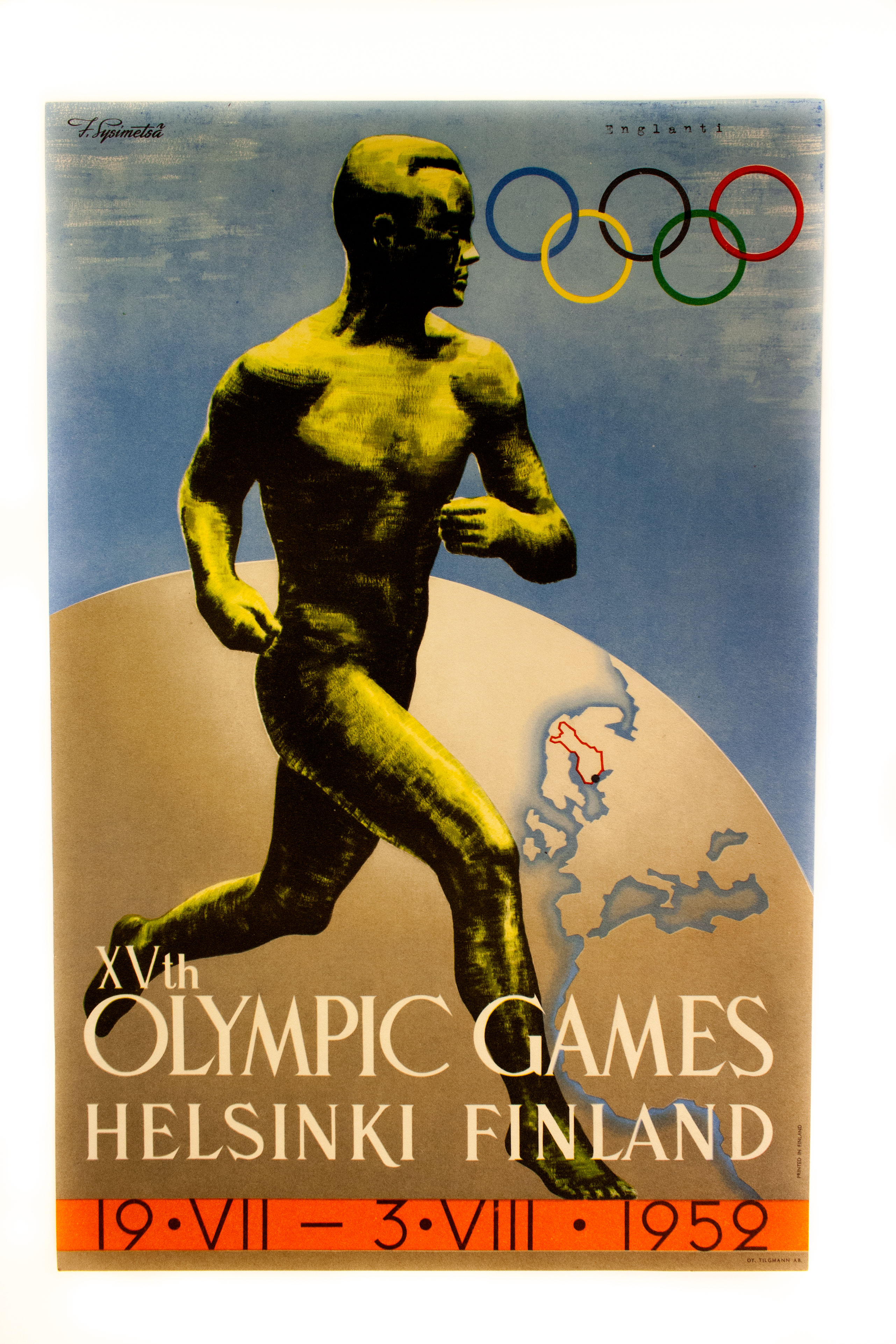 Vuoden 1952 Helsingin olympialaisten juliste